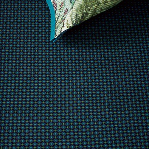 PiP Spannbettlaken Cross Stitch Perkal dunkelblau Größe 140x200 cm