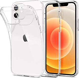 Spigen Liquid Crystal Back Cover Case Designed for iPhone 12   iPhone 12 Pro - Crystal Clear