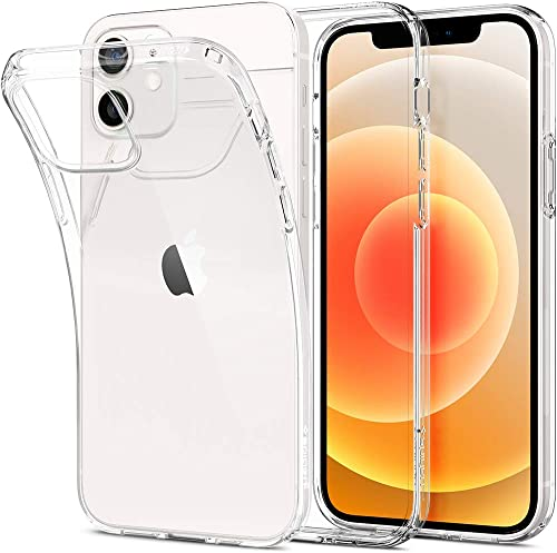 Spigen Liquid Crystal Back Cover Case Designed for iPhone 12 iPhone 12 Pro Crystal Clear