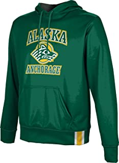 ProSphere University of Alaska Anchorage Men's Pullover Hoodie, School Spirit Sweatshirt (Solid)