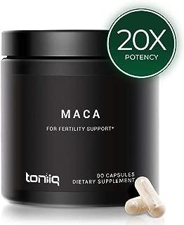 Best gelatinized maca capsules Reviews