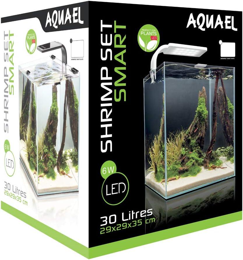 AquaEl Aquarium Shrimpset Smart 2 30 Blanc 30 L