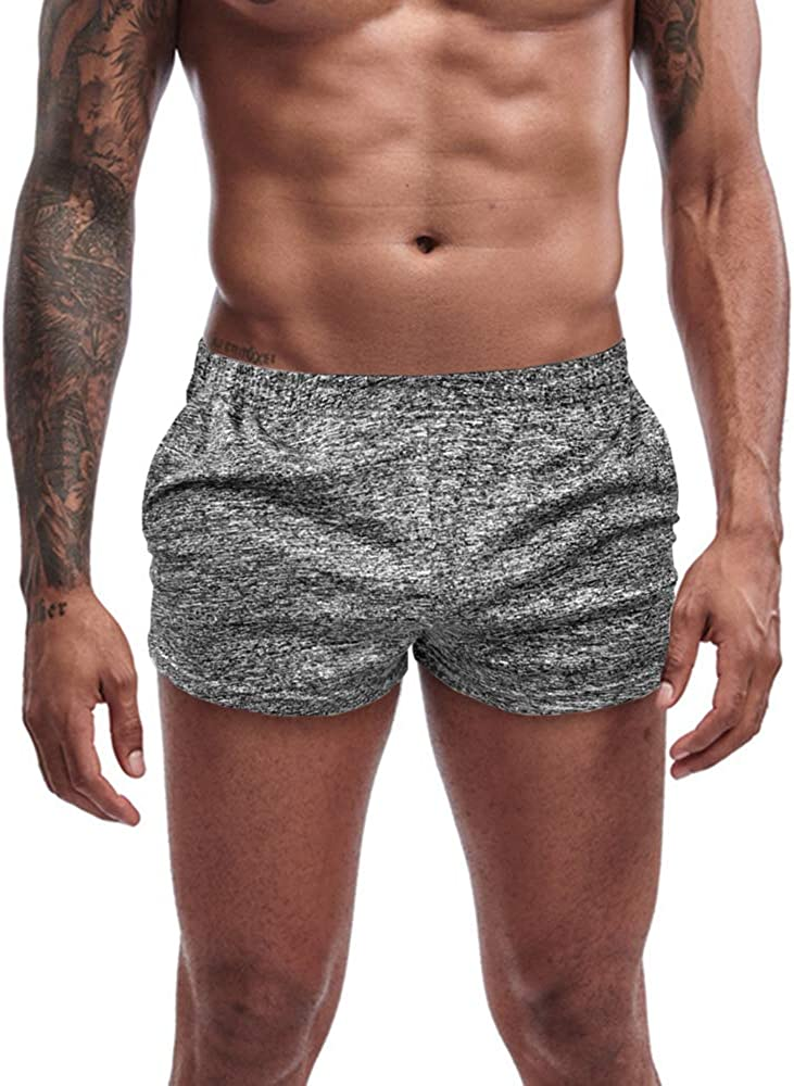 Agilelin Men's Workout Ranking TOP14 Running Shorts Finally resale start Whith Inch 3 Athle Pockets