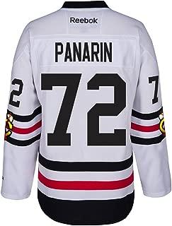 Reebok Artemi Panarin Chicago Blackhawks NHL White 2017 Official Winter Classic Premier Jersey for Men