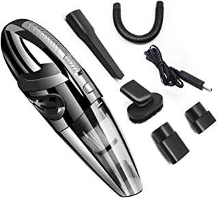 Handheld Vacuum Cordless,with Rechargeable Quick Charge Battery, Lightweight Mini Hand..