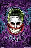 Suicide Squad - Joker Poster Drucken (55,88 x 86,36 cm)