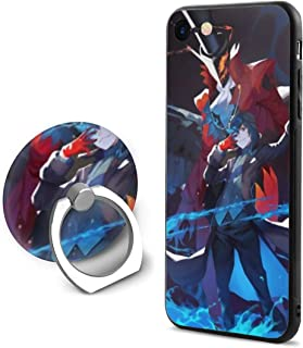 Angela R Mathews Persona 5-Ren Amamiya Unique Anime Style Case for Apple iPhone 8 and iPhone 7 with Phone Ring Holder