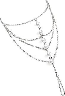 Suyi Elegant Crystal Finger Ring Bracelet Attached Link Hand Harness Bangle