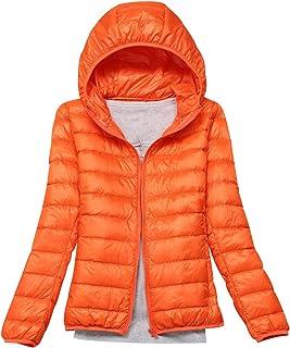 1019922f644 Lightweight Down Jacket Women with Hood Womens Down Coats Women'S Ultra  Light Packable Down Jacket Down