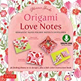 Origami Love Notes Ebook: Romantic Hand-Folded Notes & Envelopes: Origami Book with 12 Original Projects (English Edition)