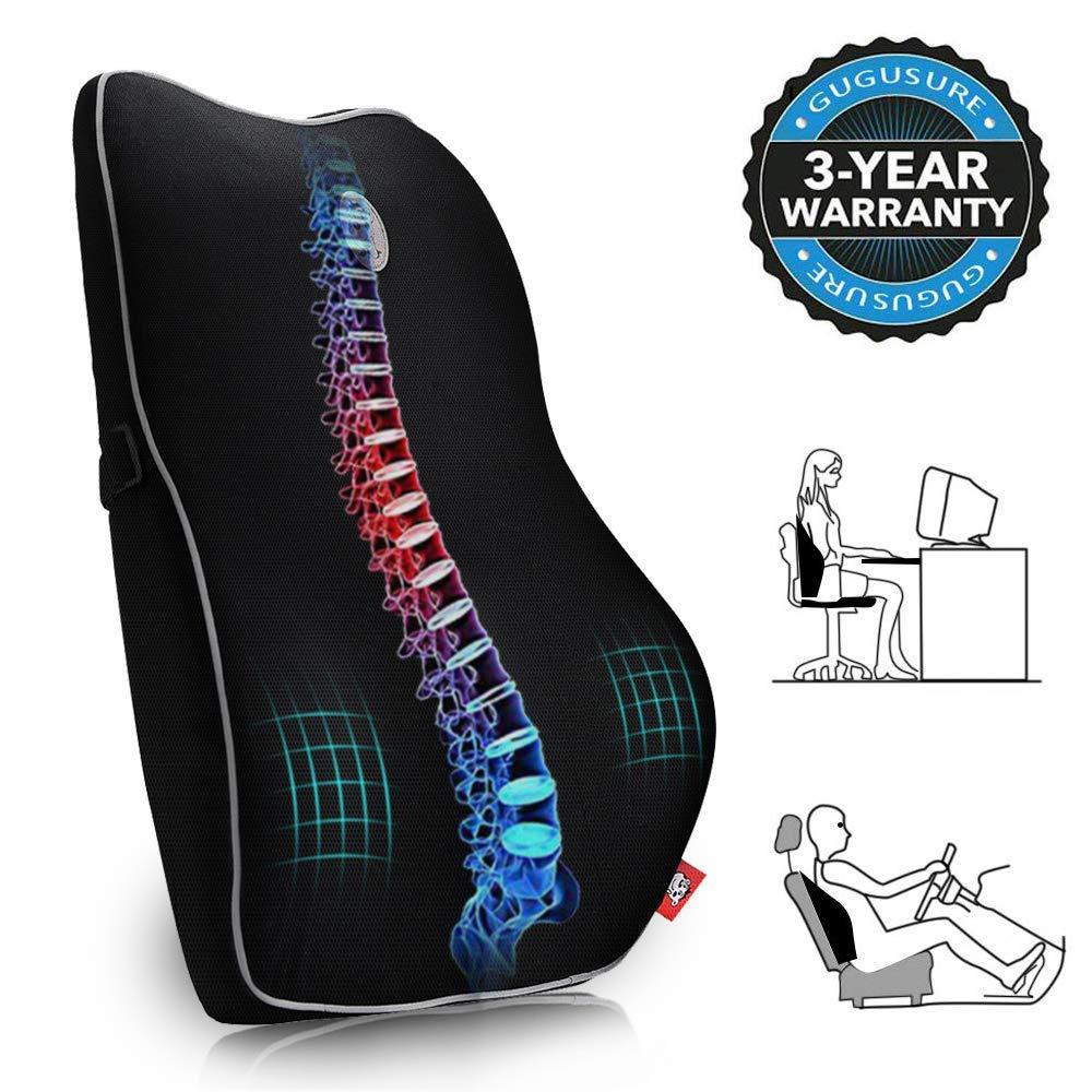 Gugusure Breathable Ergonomic Orthopedic Wheelchair