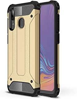 Galaxy A30 Case, EabHulie Dual Layer Heavy Duty Shockproof Rugged Hybrid Armor Protective Case Cover for Samsung Galaxy A30 Gold