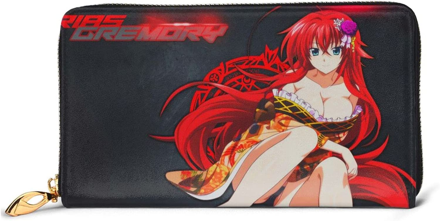 High Reservation School DxD Rias Cheap mail order specialty store Gremory Wallet Interesting Printing Leather