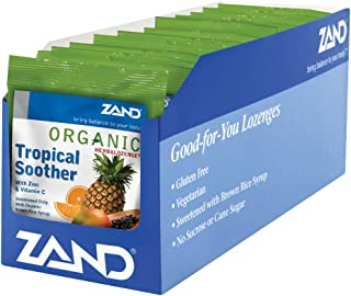 Zand Organic HerbaLozenge Tropical Soother (12 Bags, 18 Lozenges)