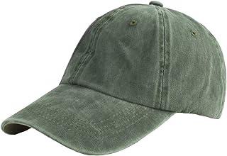 Vimfashi Men Vintage Washed Dad Hat Adjustable Classic Trucker Baseball Cap