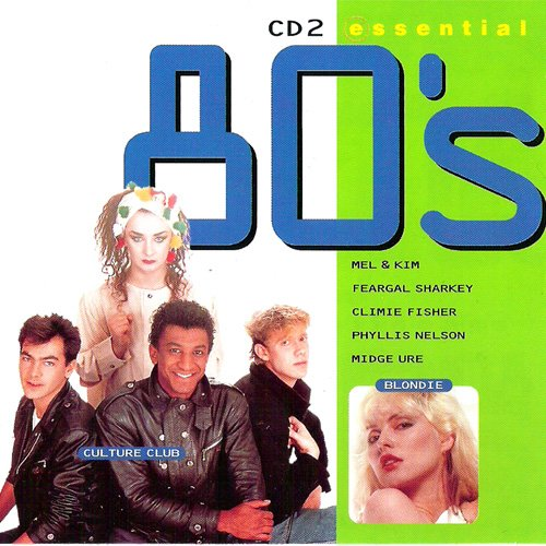 essential 80\'s cd2 (CD Compilation, 16 Tracks) blondie - call me / the flying pickets - only you / phyllis nelson - move closer / boris gardiner - i want to wake up with you / housemartins - caravan of love / boy george - everything i own / mel & kim - respectable / the firm - star trekkin\' etc.