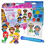 Aquabeads Disney Princess Character Gift Set with Pen, Aqua Beads Extra Refills...
