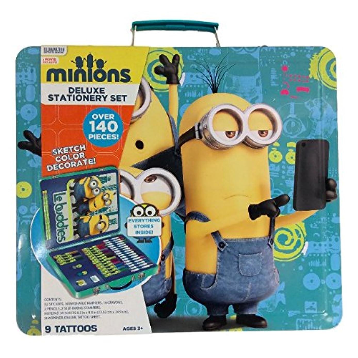 Illumination Entertainment Minions Stationary Set Over 140 Pcs