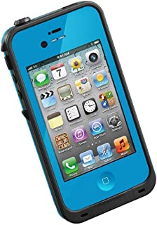 BlastCase Waterproof Shockproof Dirt Proof Snow Proof Protection Case Cover for Apple iPhone 4/4s - Non-Retail Packaging - Blue
