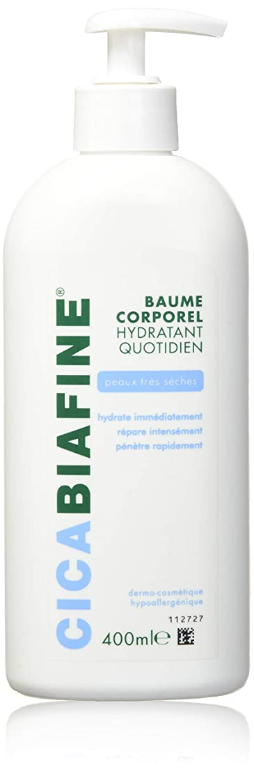 CICABIAFINE Baume Hydratant Corporel Quotidien Peaux Tr鑚 S鐵hes (400 ml)