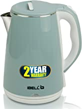 iBELL SEK20L Premium Electric Kettle, 2 Ltr, 1500W (Inside Stainless Steel & Wire Length 0.85 Mtr)