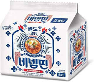 [Paldo] limited edition of the 35th anniversary, Hot & Spicy Bibim myun Cold Noodle 130g × 5pack / 5 times more spicy than the original bibim myun! / Korean ramen (overseas direct shipment)