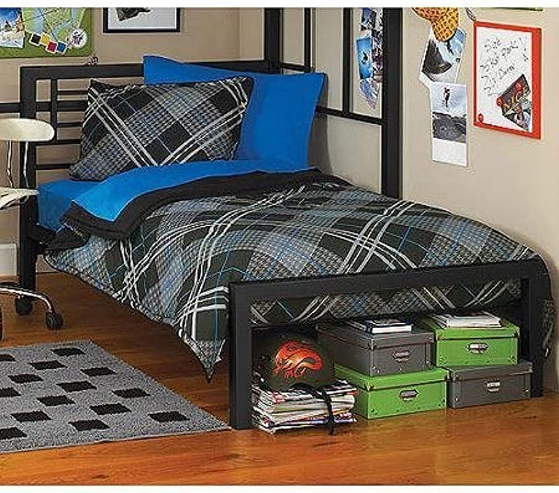 Metal Twin Bed By Your Zone Twin Black