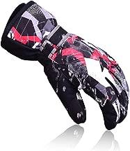 TRIWONDER Ski Gloves/Waterproof Windproof Thermal Warm Winter Snow Skiing Snowboard Gloves for Men, Women and Kids