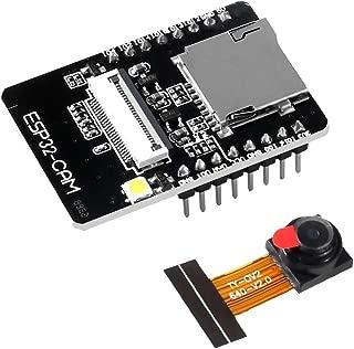 MELIFE ESP32-CAM WiFi + Bluetooth Module WiFi ESP32 CAM Development Board with Camera Module OV2640 2MP for Arduino, Support Image WiFi Upload and TF Card