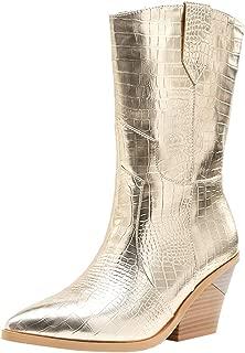 Zanpa Women Classic Western Booties
