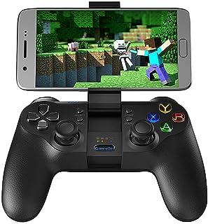 GameSir T1s Bluetoothコントローラー ワイヤレスゲームパッド 有線無線両方対応 スマホコントローラー リモコン USB充電 振動機能付き Android用
