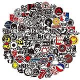 EUFFO Sticker Set 100 Stück Vintage Rock Band Aufkleber für Koffer Laptop Fahrrad Motorrad Skateboard Helm Auto Stickerbombing Wasserfeste Graffiti Punk Sticker