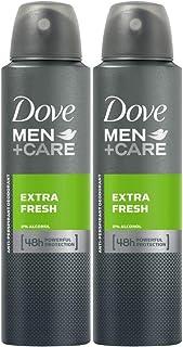 Dove Men Care Antiperspirant Deodorant Extra Fresh, 2 X 150 ml