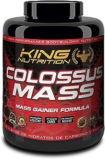 COLOSSUS MASS 3kg Chocolate King Nutrition proteina carbohidratos creatina gainer subidor de masa peso y fuerza