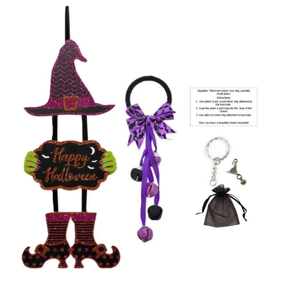 Charm Resin Art Witch Hat Keychain