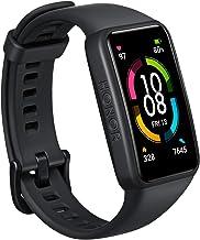 HONOR Band 6 Smartwatch, 1,47 inch touchscreen, fitnesstracker, fitnessarmband met SpO2-hartslagmeter, IP68 waterdicht, ha...
