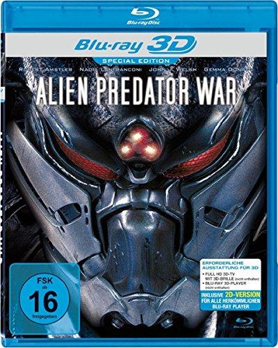 Alien Predator War Real 3D-BD [Alemania] [Blu-ray]