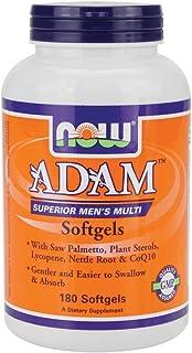 Now Foods Adam Men's Multiple Vitamin - 180 Softgels 3 Pack