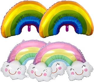 rainbow cloud party