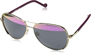 Liu Jo Aviator LJ102SR Blush Gold Sunglasses for Women 59-13-135mm