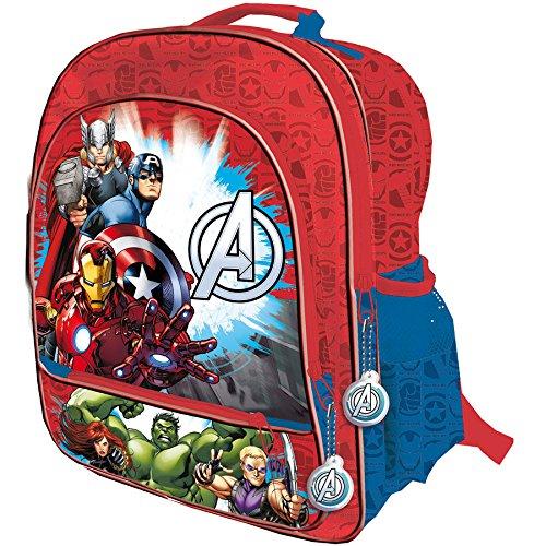 Avengers 4 cerniere adattabile grande Cartella trolley, 41 cm, motivo: The Avengers Assemble di Marvel Comics
