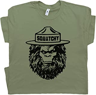 Squatchy Shirt Sasquatch Tee Bigfoot Appalachian Trail Hiking Smokey The Great Smoky Mountains Bear Camping