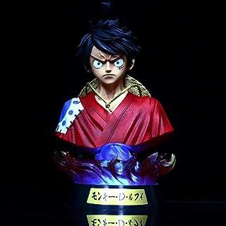 Verkligt och roligt Anime Figur One Piece Wano Land Kimono Luffy Bust 7-Färg Lysande Premium Edition Boxed Figur Toy Model...
