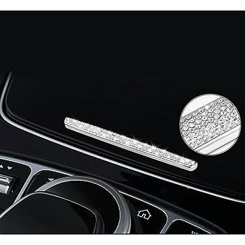 YIKA Benz Auto Center Console Multimedia Knob adjust Crystal Diamond Decoration cover For Mercedes-Benz New C Class//GLC Class//new E Class