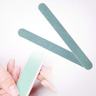 urlifeエリコネイル エメリーボード パーフェクトシャイン ネイルをつやつやにするスポンジネイルファイル 両面使えるマニキュアDIYのソフトファイル 爪磨き 爪に優しい爪やすり 2本入