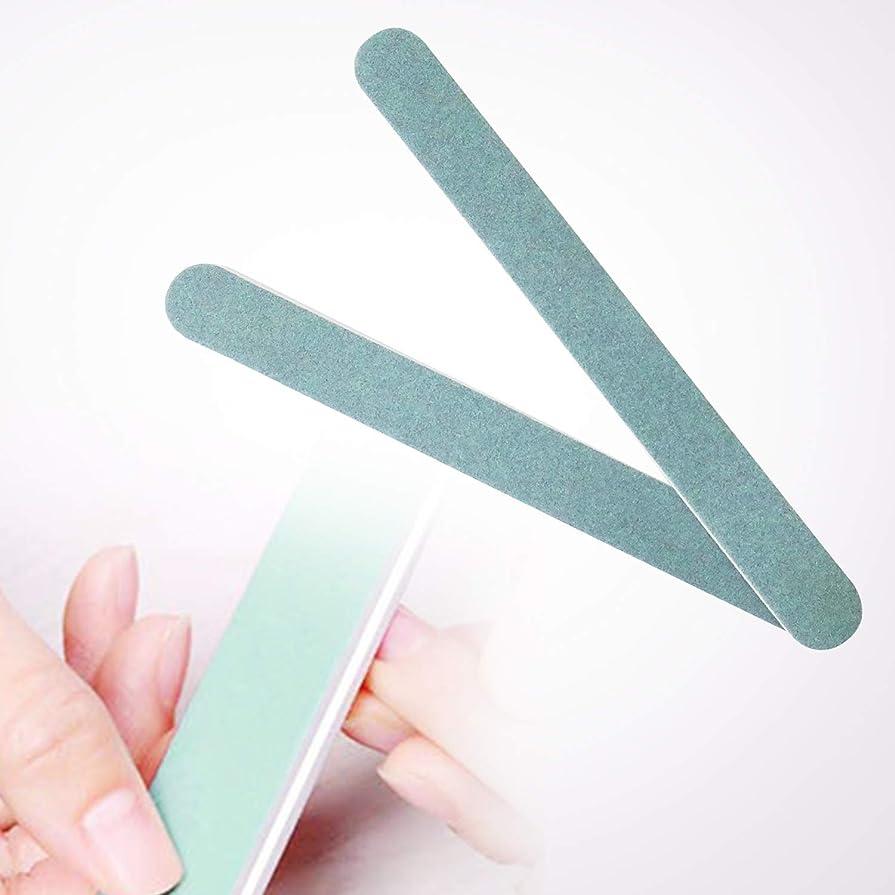 粗い衣服正確なurlifeエリコネイル エメリーボード パーフェクトシャイン ネイルをつやつやにするスポンジネイルファイル 両面使えるマニキュアDIYのソフトファイル 爪磨き 爪に優しい爪やすり 2本入