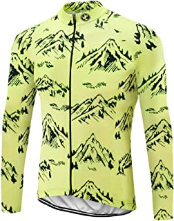 Uglyfrog Men Cycling Clothing Sets Suit Spring Autumn Long Sleeve Cycling Jerseys Trouser Pants