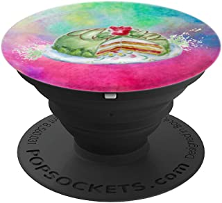 Birthday Celebration Marzipan Princess Cake - PopSockets Grip and Stand for Phones and Tablets