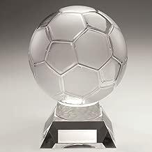 Lapal Dimension Fu/ßball-Pokal aus Hartzinn//Gold gewichtet 2,5 cm mittig 22,9 cm