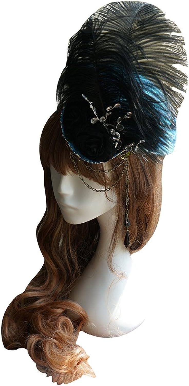 Exclusive Vintage Designer Classic Lolita Handmade Retro Tricorn Hat   Headdress